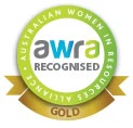 AWRA_recognised_emblem_gold